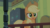 Applejack hears Scootaloo's voice S4E17
