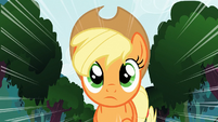 Applejack thinking S3E9