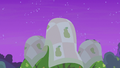 Blankets draped over pear trees S7E13.png