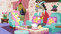 "Discord ""it did rain the other day, however"" S7E12"
