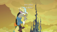 Discord pointing downward S6E26