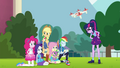 Equestria Girls taking another group photo EGFF.png