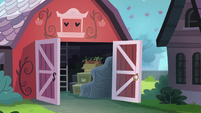 Exterior view of Applejack's house barn EGROF