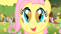 Filly Fluttershy amazed by her surroundings S1E23