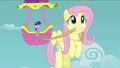 Fluttershy with a rope S2E02.png