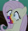Fluttershy zom-pony ID S6E15