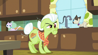 Granny giving Applejack the stink eye S9E10