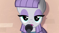 Maud Pie staring blankly at the audience S8E3