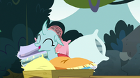 Ocellus surrounded by pillows S8E2