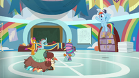 Rainbow Dash -great practice, everypony!- S9E15