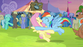 Rainbow tackles Fluttershy S4E22.png