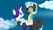 Rarity looks at Thunderlane 18