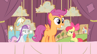 Scootaloo smiling S4E05