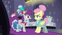 Silver Berry -don't you mean 'chevron'-- S8E4