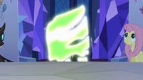 Spike Changeling turning back to normal S6E25