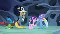 Starlight Glimmer --instead of bickering like foals!-- S6E25