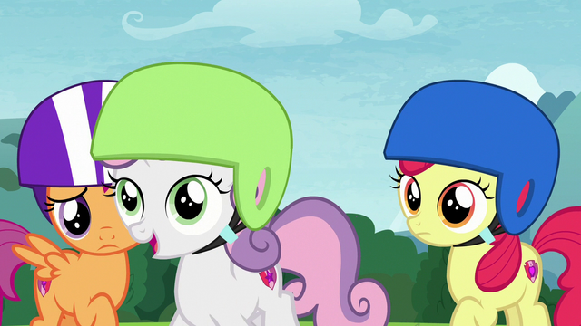 File:Sweetie Belle approaching Chipcutter S7E6.png