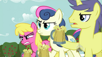 The ponies don't like the cider S2E15