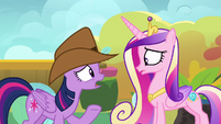 Twilight -make sure these cruise ponies are happy- S7E22