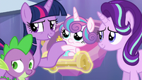 Twilight Sparkle --whatever we can to help-- S6E16