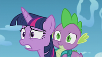 "Twilight confused ""you were?"" S5E25"