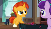 Young Sunburst angrily snapping at Starlight S7E24