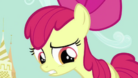 Apple Bloom apologizing S2E17