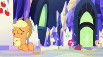 "Applejack ""absolutely not"" S9E4"