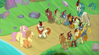 "Autumn Blaze ""searched the entire forest"" S8E23"