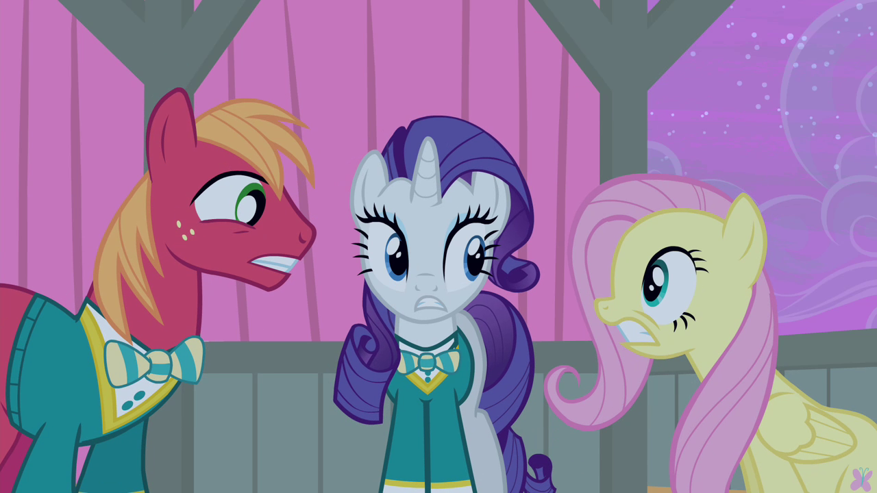 image big mac rarity and fluttershy worried s4e14 png my little