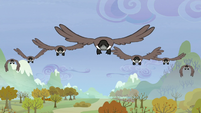 Birds flying S5E5
