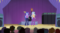 Celestia and Luna step on stage EG2