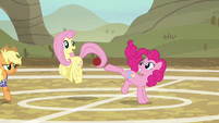 Fluttershy and Pinkie Pie having fun again S6E18
