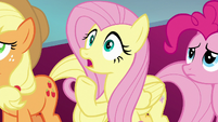 Fluttershy gasping in horror S8E25