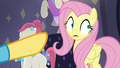 Fluttershy starting to sweat S8E4.png