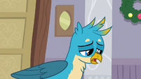 Gallus apologizing to his friends S8E16