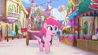 MLP The Movie Multikino - Pinkie Pie in the festival plaza