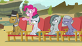 Pinkie's family annoyed by her loudness S7E4.png