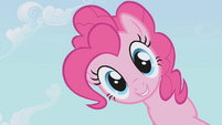 Pinkie Pie looks down S1E03
