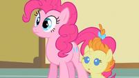 Pinkie Pie watching bad news S2E13