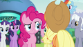 Pinkie looking at Applejack S5E24.png