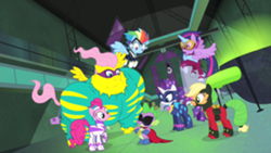 Power Ponies the day is saved S4E06