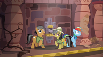 Rainbow, Quibble, and Daring reach the inner sanctum S6E13