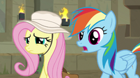 "Rainbow ""pretending to like Fluttershy"" S9E21"