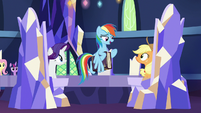 "Rainbow Dash ""I learn it hard"" S7E14"