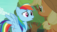 Rainbow Dash asking --what for--- S6E18