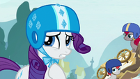 Rarity --I suppose we might have gotten-- S6E14