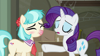 Rarity --overflowing plate of responsibilities-- S6E9