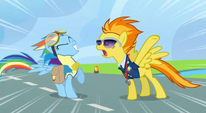 S03E07 Spitfire krzyczy na Rainbow