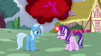 Starlight Glimmer yelling at Trixie S7E2